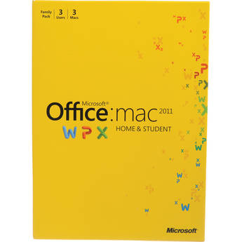 Microsoft Office for Mac Home and Student 2011 ファミリーパック
